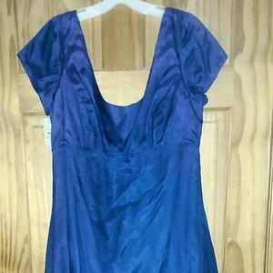 Vintage Jordan Ladies Blue/Purple Bridesmaid Dress